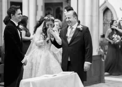 London church wedding photography