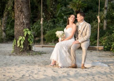 Beach wedding in Thailand