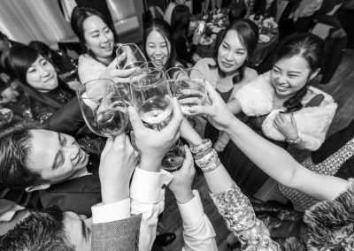Chinese wedding toasting
