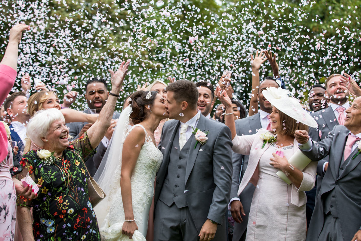 How to get the best confetti photo