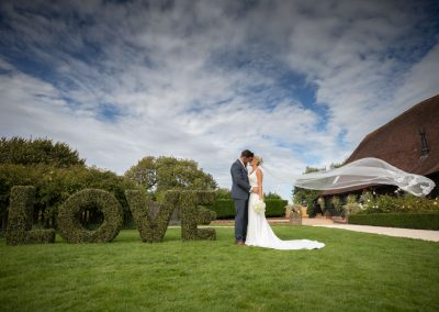 The Old Kent Barn wedding photographer