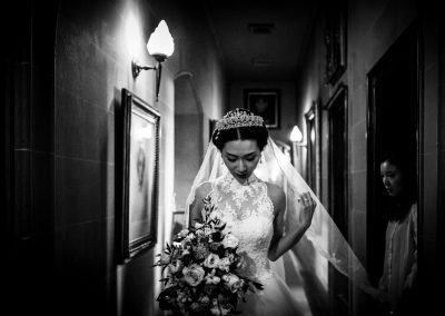 Chinese bride at Eastnor Castle