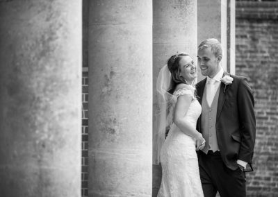 Natural wedding photography at Wotton House