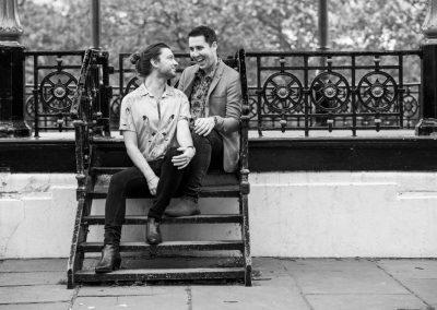 Same sex pre-wedding photoshoot